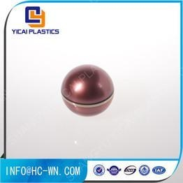 China Ungrouped Ball Shape Empty Acrylic Round Cosmetic Containers on sale