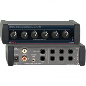China Recording Radio Design Labs EZ-HDA6 Stereo Headphone Distribution Amp (North American Power Supply) on sale
