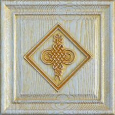 China Foil Products 3D wood carving background wall W26A-4 on sale