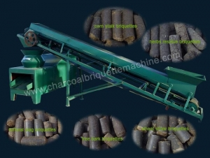 China Flat Die Biomass Briquette Press on sale