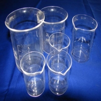 High Quality Measuring Quartz Beaker for Lab
