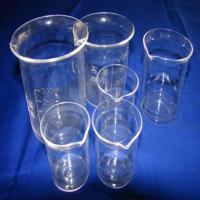 High Quality Measuring Quartz Beaker for Lab