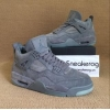 "China Authentic KAWS x Air Jordan 4 Cool Grey"" for sale"