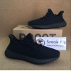 China Authentic Yeezy Boost 350 V2 All Black for sale