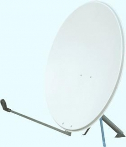 China Ku Band Offset 95 x 105cm Satellite Dish Antenna on sale