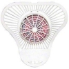 China Impact Urinal Screen w/Block - Cherry for sale