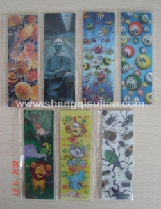 China 3D Stationery 3D bookmark on sale