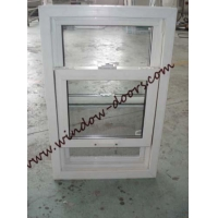 China UPVC hung window on sale