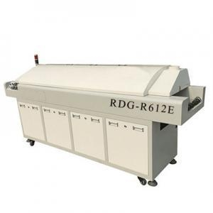 China Delta Robot 3D Printer Full hot air lead-free Reflow Oven with six heating-zone RDG-R612E on sale