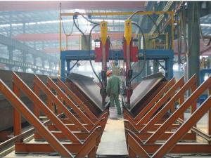 China MZG series H beam gantry auto-submerged arc welding machine on sale
