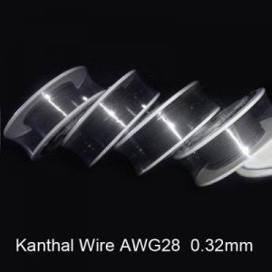 China 0.32mm Diameter Kanthal Resistance Wire Roll Electric Cigarette Coils for Atomizer DIY (10m) on sale