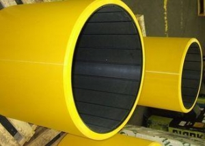 China Eco - Friendly Rubber Water Lubricated Bearings For Pumps Protecting Shaft / Sleeve on sale