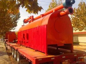China Bamboo Charcoal Making Machine on sale