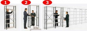 China Shelving Systems Euro Shelving on sale