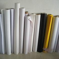 China Flexible Polypropylene Synthetic Paper 0.57mm For Billboard And Truck Cover on sale