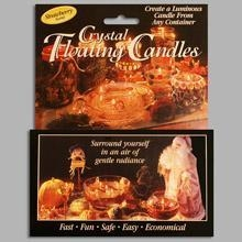 China Crystal Floating Candle Retail Pack. Strawberry Scent on sale