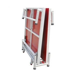 China Aluminum Portable Folding Stage on Wheels for Sale on sale