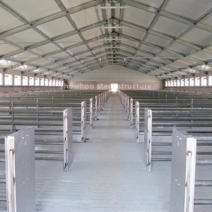 China Design Prefab Steel Structure Pig Farming House Project for Sale on sale