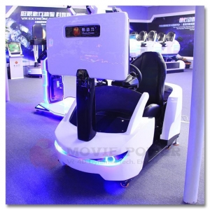 China 9D Ride Car Racing VR Games Simulator 4D Simulation Ride on sale