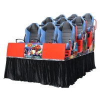 Hot Sale 5D Motion Ride Cinema 5D Cine Theater Moving Theater