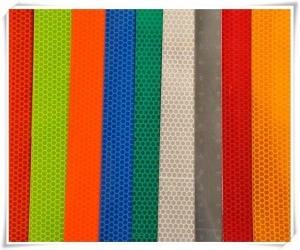 China White/Red/Yellow Color Self Adhesive Reflective Tape on sale