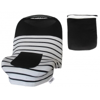 China Baby Car Seat Covers for Girls Boys, Stretchy Infant Canopy Cover on sale