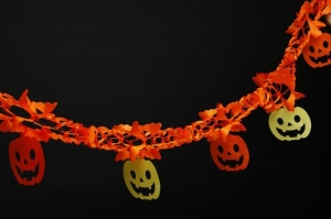 China Colorful Paper garland Halloween paper garland special on sale