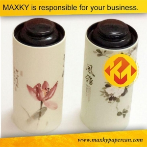 China Paper Tube Food Packaging Round Cardboard Natural Gourmet Tube Packaging on sale