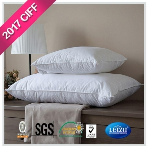 China Pillows Down and Feather Blend 100% Cotton Cover Premium Bed Pillow on sale