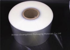 China Self Adhesive Biaxially Oriented Polyester Film , Flexible Food Packaging Film on sale