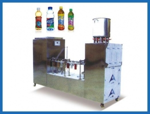 China HF-SPJ plastic bottle filling and capping machine on sale