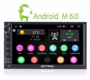 China Best Car Audio Head Unit Stereo 7 Inch Android Double Din on sale