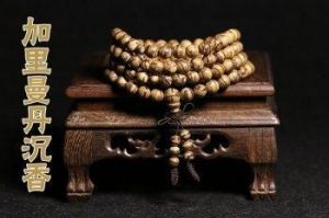 China Kalimantan Island eaglewood hand string 108 beads bracelet necklace men and women Chinese style gift on sale