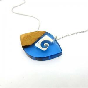 China Eye Wood luxuriou necklace stone jewelry on sale