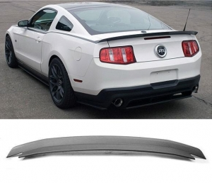 China 2010-2014 Mustang Type RT Rear Spoiler Wing - ABS Plastic PAINTED MATTE BLACK on sale