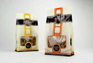 China Printed Cereal and Granola Packaging Bags on sale