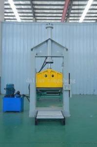 China Single blade rubber sheet cutting machine on sale