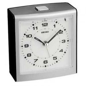 China Seiko QHE129KLH Bedside Alarm Clock on sale