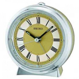 China Seiko QHE132GL Quiet Sweep Alarm Clock on sale