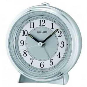 China Seiko QHE132SL Non-Ticking Alarm Clock on sale