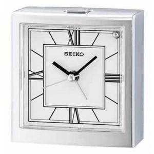 China Seiko QHE123SLH Carmelita Bedside Alarm Clock on sale