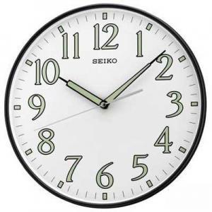 China Seiko QXA521KLH Luminous Hands Wall Clock on sale