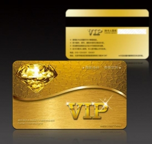 China Advertising material Membership card printing on sale