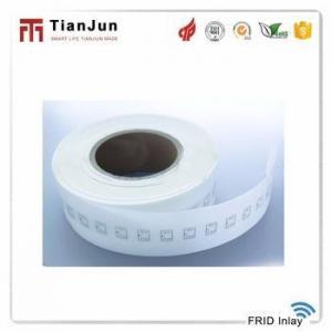China Customized 860/960MHz frequency range EPC 240 bits rfid uhf inlay on sale