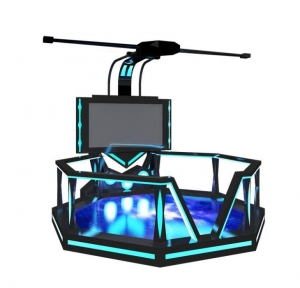 China Big Stage 9D Space Platform Virtual Reality Video Game System Exciting Game 9D Simulator on sale