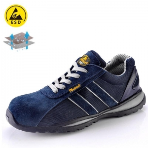 China Lightweight safety shoe for summer blue L-7034B on sale