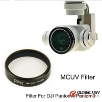 Lens Filters MCUV for DJI phantom4/phantom3 Gimbal Camera Ultraviolet Filter UAV Quadcopter drone pa