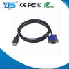 China VGA Cable HDMI Male Type A to VGA F Male Converter Adapter 1080P HDTV Cable for sale