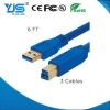China Blue Color High Speed USB Cable 3.0 AM to Mirco BM for sale