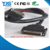China Hpdb 68-Pin to Vhdci 68-Pin connector M/M SCSI Cable, ultra Approval for sale